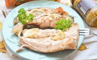 Как приготовить толстолобика в духовке