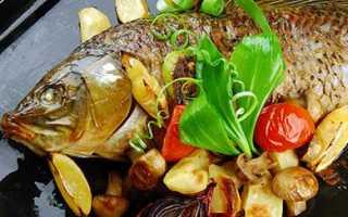 Рецепты сазана в духовке