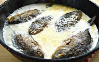 Приготовление рыбы в сметане