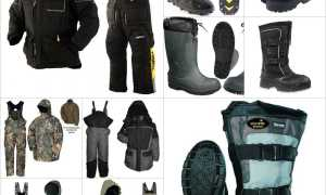 Одежда для зимней рыбалки  – описание,материалы, особенности, советы по выбору