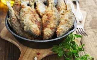 Как пожарить рыбу в муке на сковороде