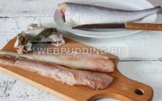 Рубленные котлеты из рыбы