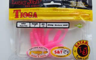 Приманки Lucky John Tioga – особенности, разновидности моделей серии, их параметры